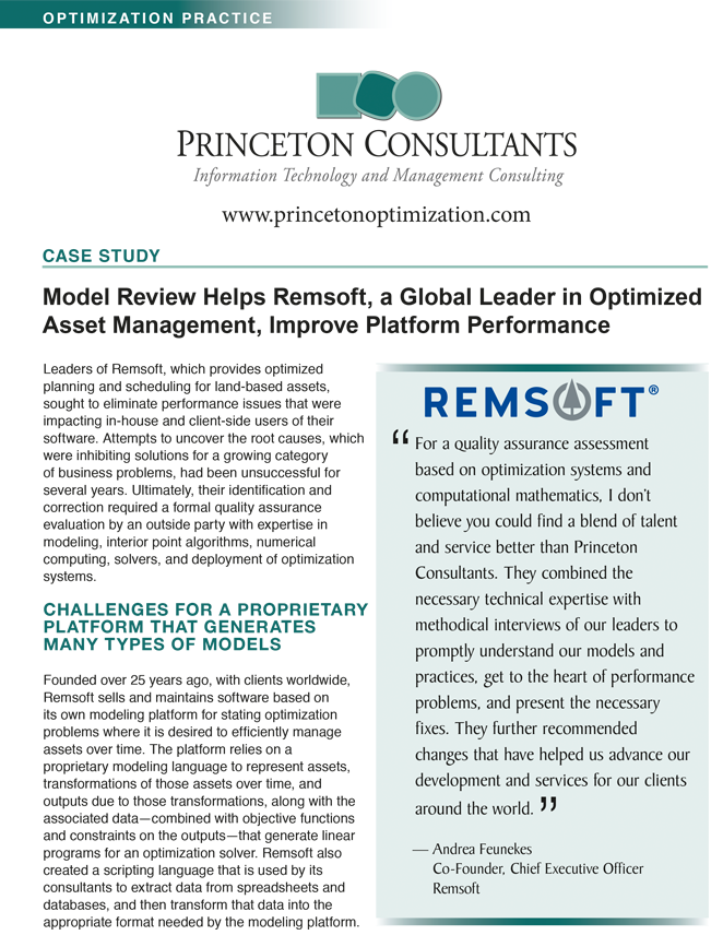 Case Study: Improving Platform Performance at Remsoft