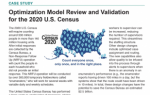 Model Review and Validation for the 2020 U.S. Census